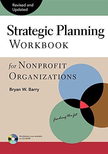 Strategic Planning Workbook for Nonprofit Organizations 9780940069077