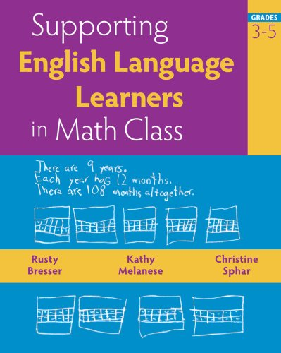 Supporting English Language Learners in Math Class, Grades 3 9780941355858
