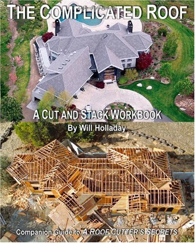 The Complicated Roof - A Cut and Stack Workbook 9780945186014
