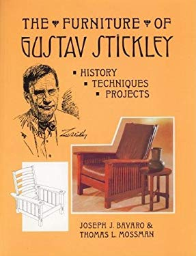 The Furniture of Gustav Stickley: History, Techniques, and Projects 9780941936354