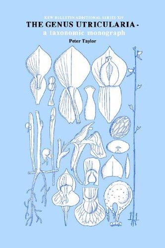 Genus Utricularia: A Taxonomic Monograph