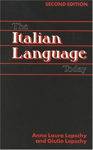 The Italian Language Today 9780941533225