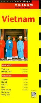 Vietnam: Country Travel Map 9780945971726