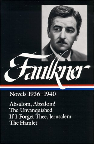 William Faulkner Novels 1936-40: Novels 1936-1940 9780940450554