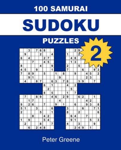100 Samurai Sudoku Puzzles 2 9780955141348