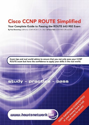 Cisco CCNP Route Simplified 9780955781575