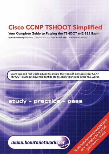 Cisco CCNP Tshoot Simplified 9780955781582