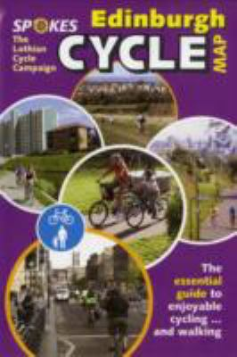 Edinburgh Cycle Map 9780954529956