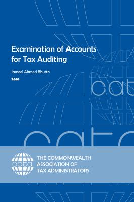 Examination of Accounts for Tax Auditing 9780955354052