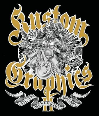 Kustom Graphics II: Hot Rods, Burlesque and Rock'n'roll 9780955833618