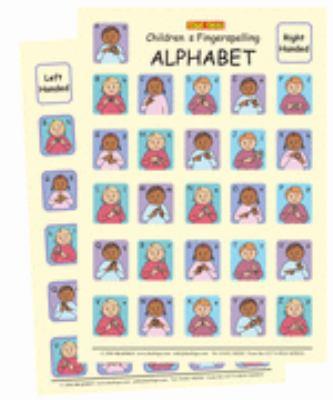 Let's Sign BSL Children's Fingerspelling Alphabet Charts 9780954238476