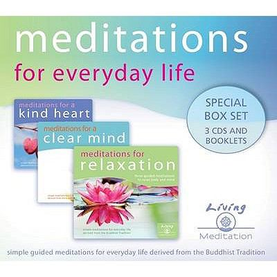 Meditations for Everyday Life Box Set: Meditations for Relaxation, a Clear Mind, and a Kind Heart 9780955866777