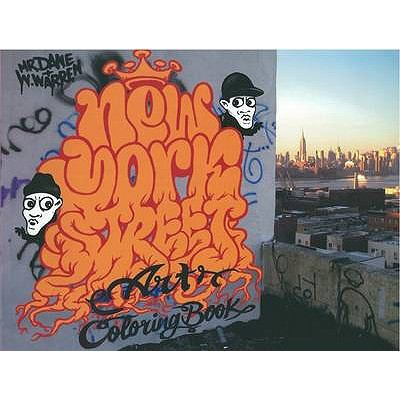 New York Street Art Colouring Book 9780955089374