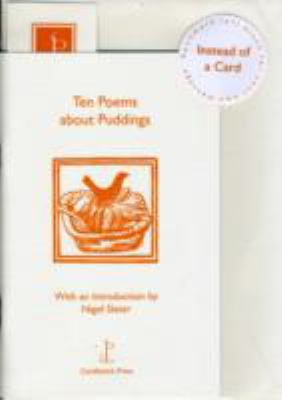 Ten Poems About Puddings 9780955894473