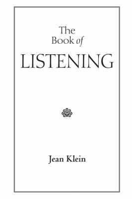 The Book of Listening 9780955399947