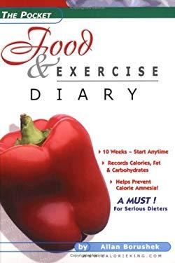 the pocket food exercise diary by allan borushek 9780958799133