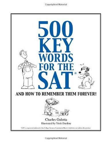 500 Key Words for the SAT 9780965326339