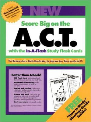 American College Test In-A-Flash Flash Cards 9780962762215