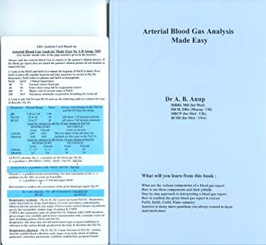 Arterial Blood Gas Analysis Made Easy 9780965708371
