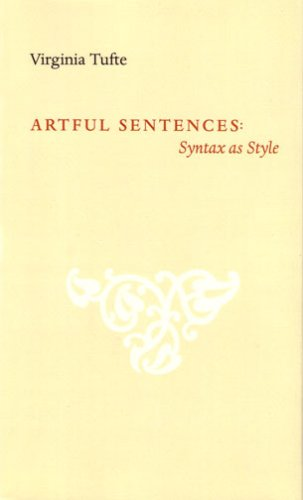 Artful Sentences: Syntax as Style