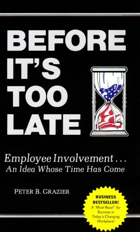 Before It's Too Late : Employee Involvement . . . An Idea Whose Time Has Come