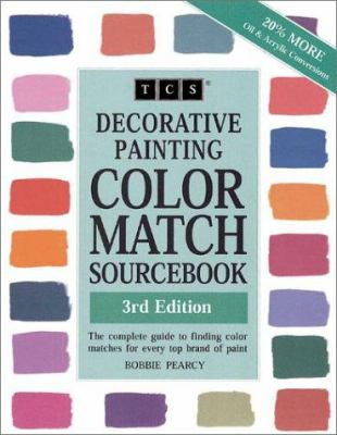 Decorative Painting Color Match Sourcebook 9780967772714