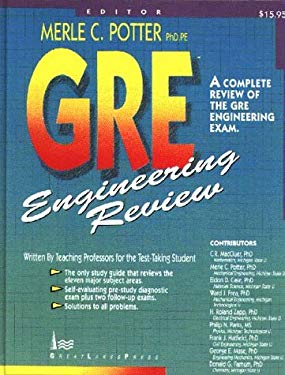 GRE Engineering Review: A Complete Review for the GRE Engineering Exam 9780961476069
