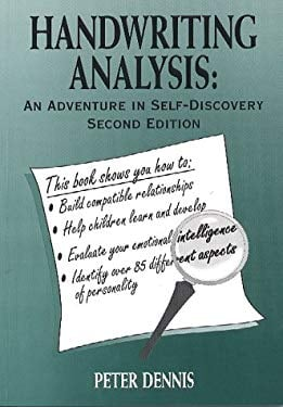 Handwriting Analysis: An Adventure in Self-Discovery 9780969892632