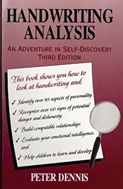 Handwriting Analysis: An Adventure in Self-Discovery 9780969892649