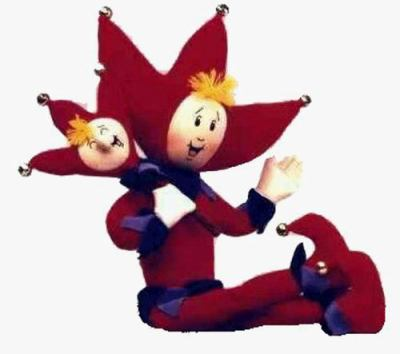 Jester and Pharley Doll 9780964456310