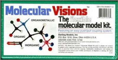 Molecular Visions Organic Inorganic Organometallic Molecular Model Kit #1 by Darling Models to Accompany Organic Chemistry 9780964883710