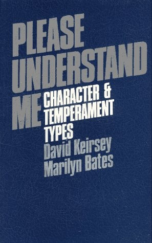 Please Understand Me: Character and Temperament Types 9780960695409