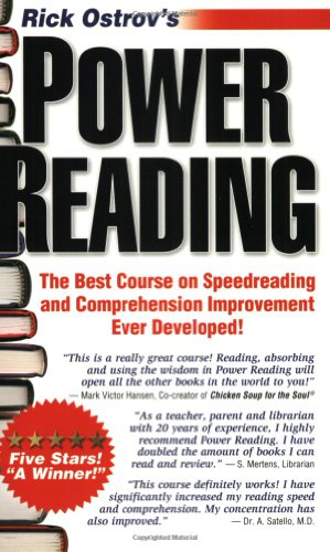 Power Reading: The Best, Fastest, Easiest, Most Effective Course on Speedreading and Comprehension Ever Developed 9780960170616