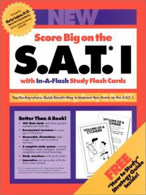 SAT 1 In-A-Flash Flash Cards 9780962762222