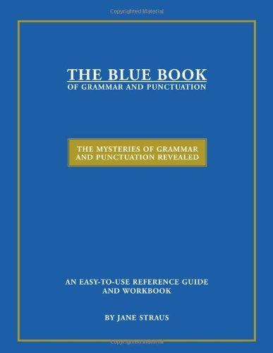 The Blue Book of Grammar and Punctuation 9780966722178