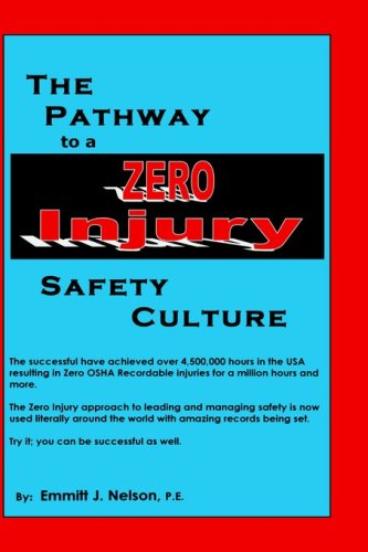 The Pathway to a Zero Injury Safety Culture 9780966489682