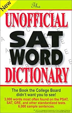 The Unofficial SAT Word Dictionary 9780965242257