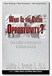What Is the Color of Opportunity: New Realities at the Crossroads of Business and Race