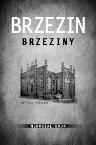 Brzezin Memorial Book 9780976475941