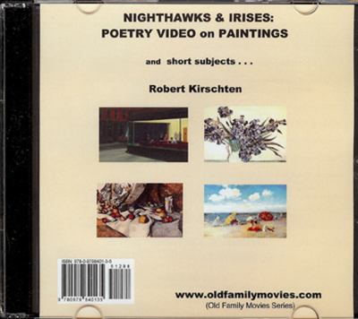 Nighthawks & Irises: Poetry Video on Paintings 9780979840135