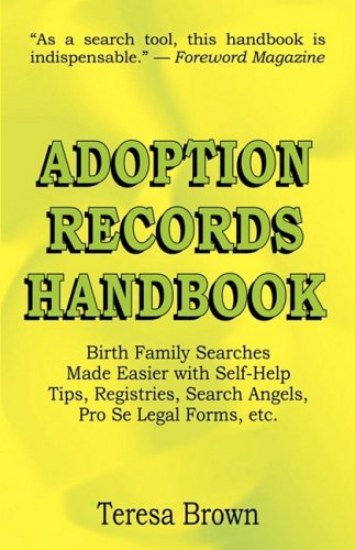 Adoption Records Handbook 9780974343860