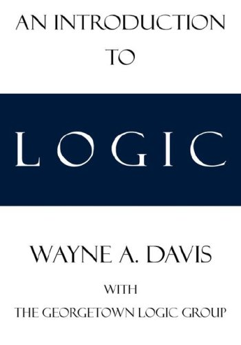 An Introduction to Logic 9780978544546