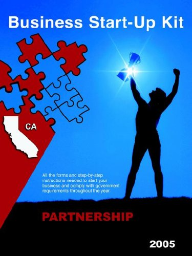 Business Start-Up Kit Partnership California 2005 9780976076650