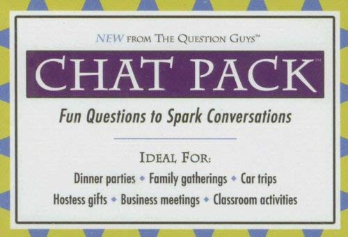 Chat Pack: Fun Questions to Spark Conversations 9780975580165