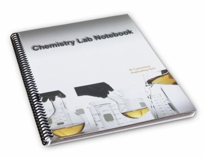 Chemistry Lab Notebook 50 Carbonless Duplicating Sets