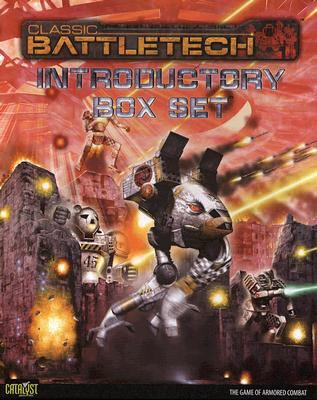 Classic Battletech Introductory Box Set [With 2 Six-Sided DiceWith 2 Heavy Duty Cards of TablesWith Poster-Sized MapWith 24 MiniaturesWith 9780979204739