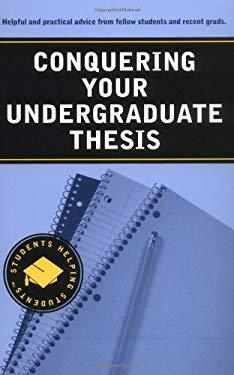 conquering your undergraduate thesis Conquering your undergraduate thesis: nataly kogan: amazoncommx: libros amazoncommx prueba prime libros ir buscar hola identifícate mi.