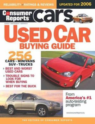Consumer Reports Used Car Buying Guide 9780975538869