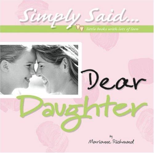Dear Daughter 9780975352809