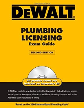 Dewalt Plumbing Licensing Exam Guide [With CDROM] 9780979740350